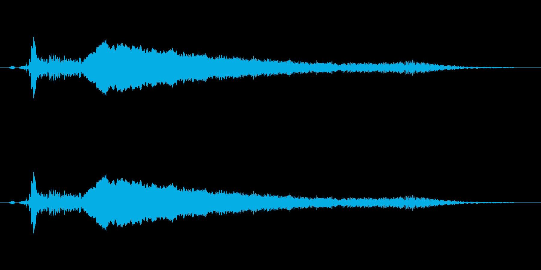 【鷹】とてもリアルな鷹、たかの鳴き声2!の再生済みの波形