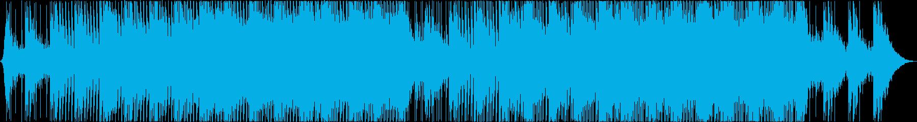 House trackの再生済みの波形