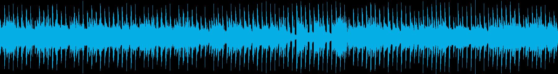 さわやかな琴のダンス調な和風音楽の再生済みの波形