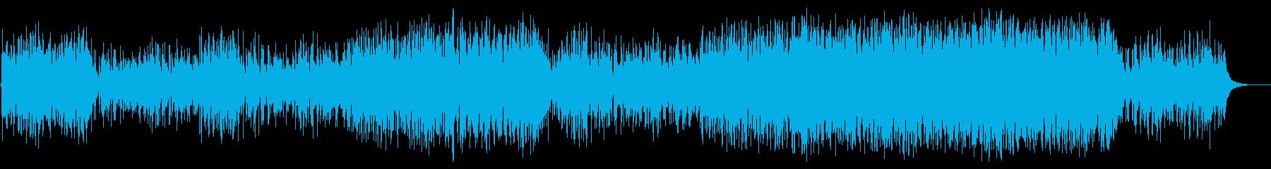 さわやかかつドラマチックな高音ソロギターの再生済みの波形