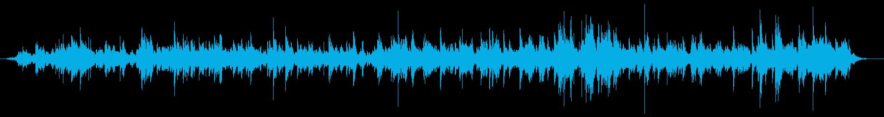 生演奏 ベル キラキラ クリスマスの再生済みの波形