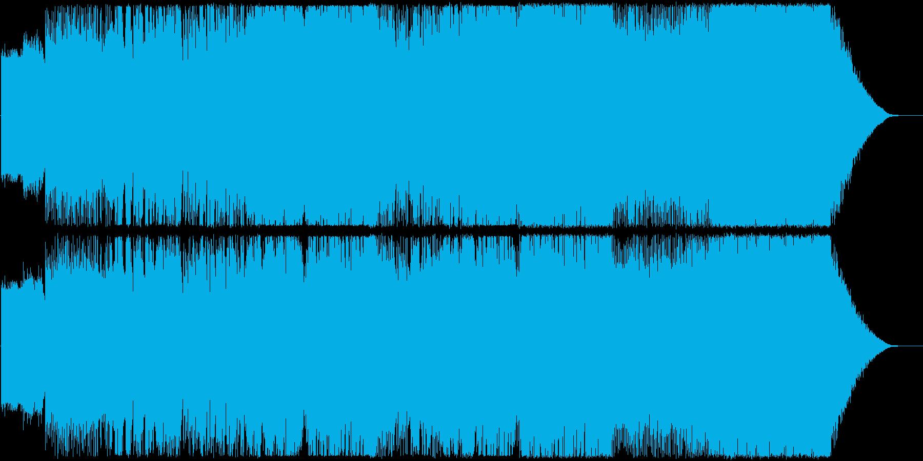 シン世界の再生済みの波形