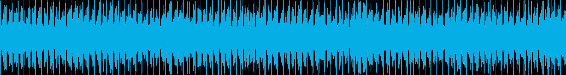 明日への活力をイメージしたBGMの再生済みの波形