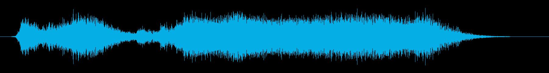 ジャイアントキャッスルドア:重残響きしみの再生済みの波形