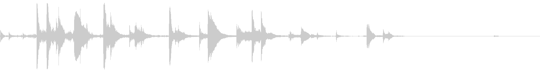 ラティリーメタルディスクスピン、フォリーの未再生の波形