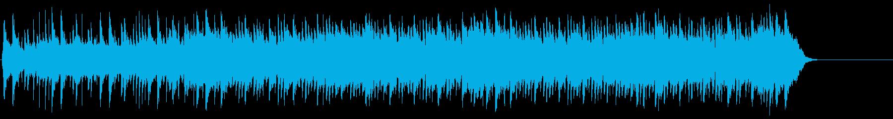 優雅で穏やかポップ(イントロ~サビ)の再生済みの波形