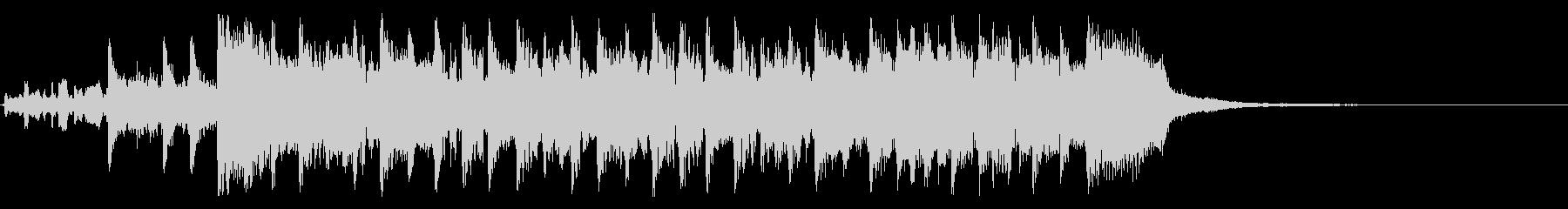 ツーオンワンの未再生の波形