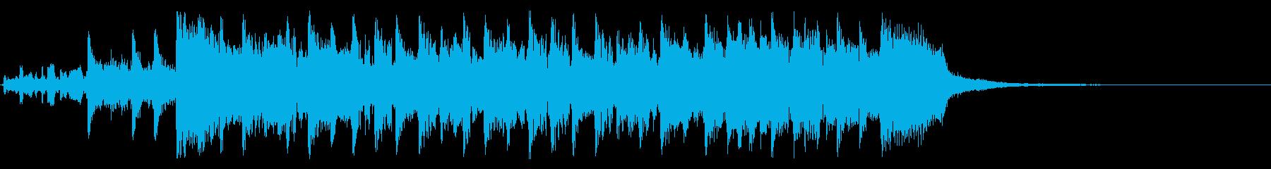 ツーオンワンの再生済みの波形