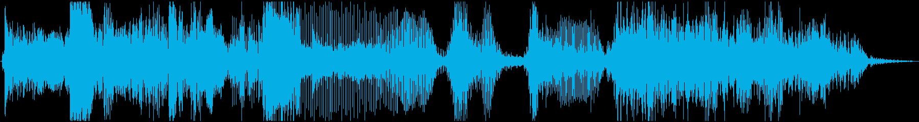 アニメーション、ウェブサイト、キッ...の再生済みの波形