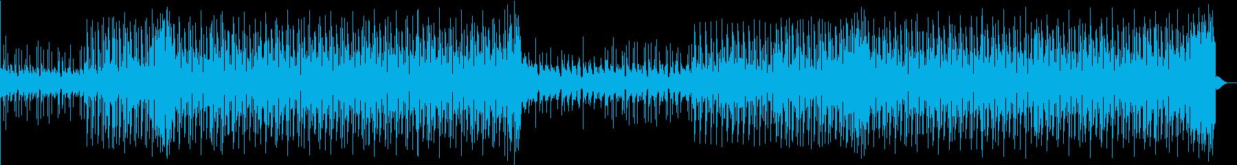 ちょっと切ない夏のポップス/EDMの再生済みの波形