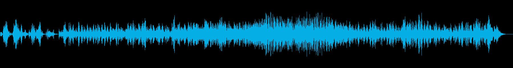 [秋] ロンリー・オータム(ジャズ風)の再生済みの波形