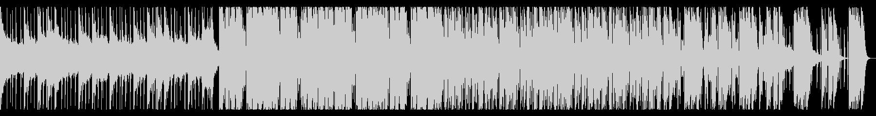 お洒落なトロピカルハウスの未再生の波形