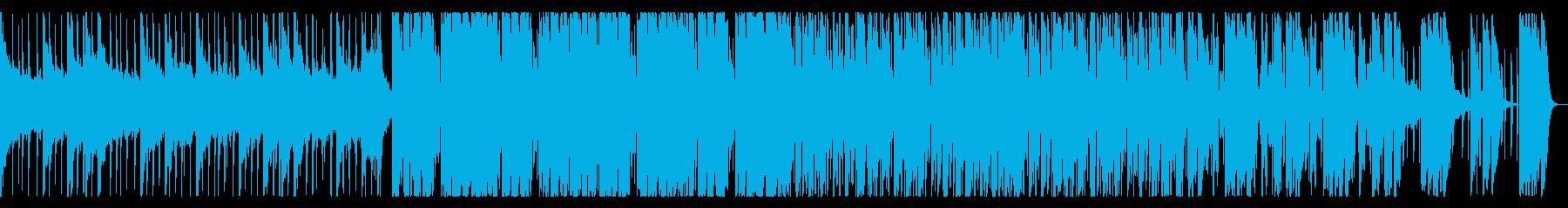 お洒落なトロピカルハウスの再生済みの波形