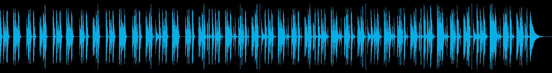YouTube・劇伴・コミカル・日常の再生済みの波形