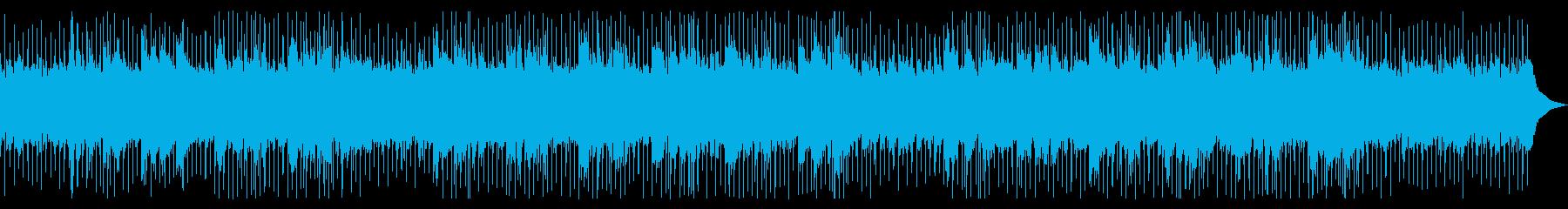 爽やかな初夏の風をイメージしたアコギ楽曲の再生済みの波形