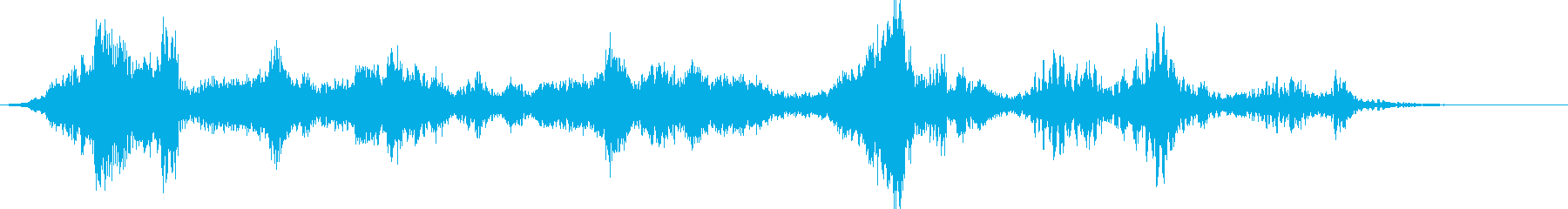 【ホラーゲーム】悪魔のささやきの再生済みの波形