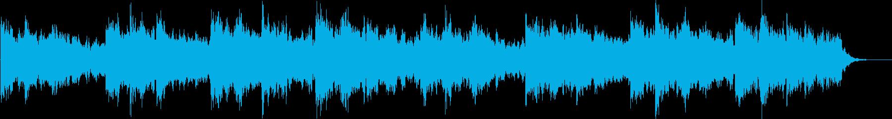 長めPAD系ループBPM120の再生済みの波形