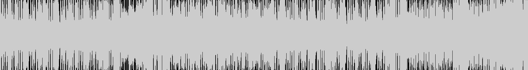 ミュージカル風BGM(ループ仕様)の未再生の波形