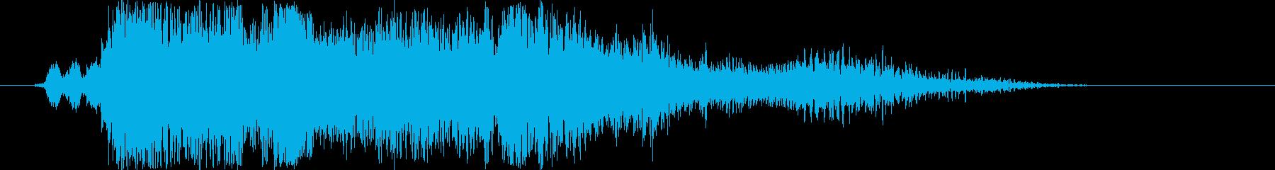 SCI FI 戦利品ミディアム01...の再生済みの波形