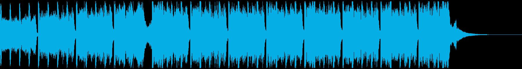 スポーツの動機(30秒)の再生済みの波形