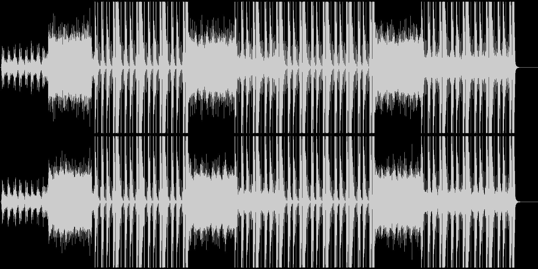 洋楽、トラップ、ヒップホップサウンド♪の未再生の波形