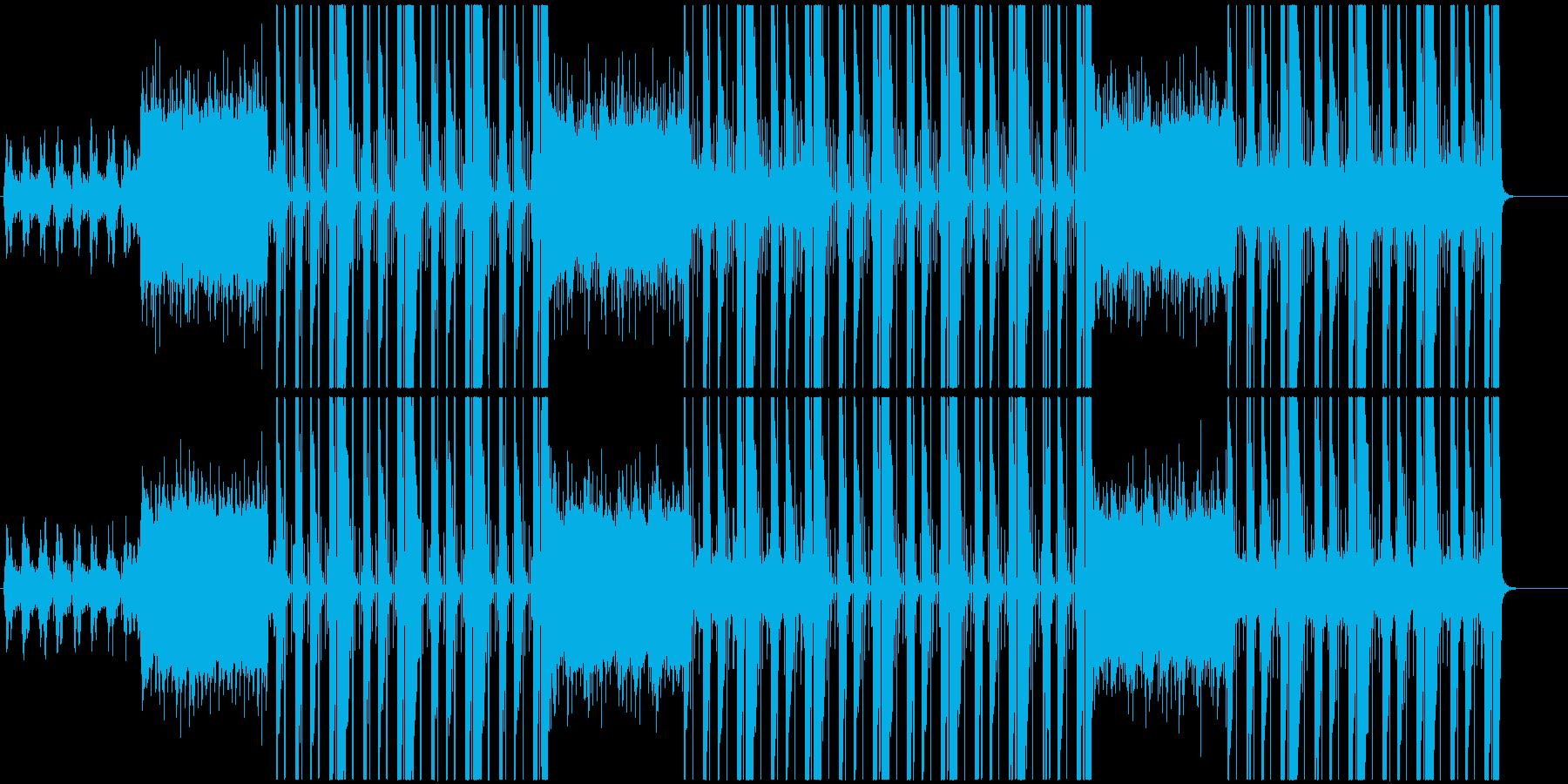 洋楽、トラップ、ヒップホップサウンド♪の再生済みの波形