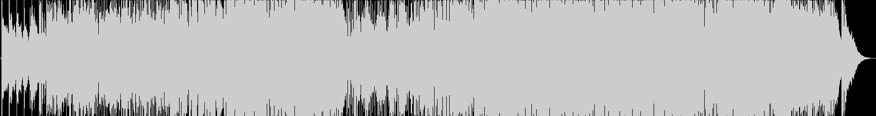 心地よい3ピースバンドサウンドの未再生の波形