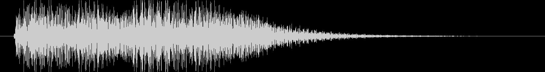 テロテロ(エラー・アラート音 ピアノ)の未再生の波形