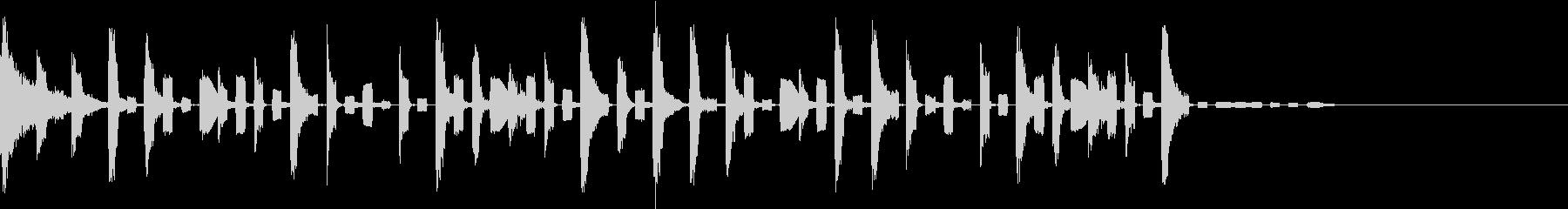 エレクトロジングル youtubeの未再生の波形