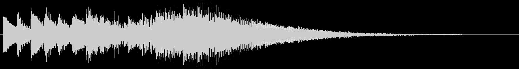 キラキラリーン ゆっくり上昇(鉄琴風)の未再生の波形