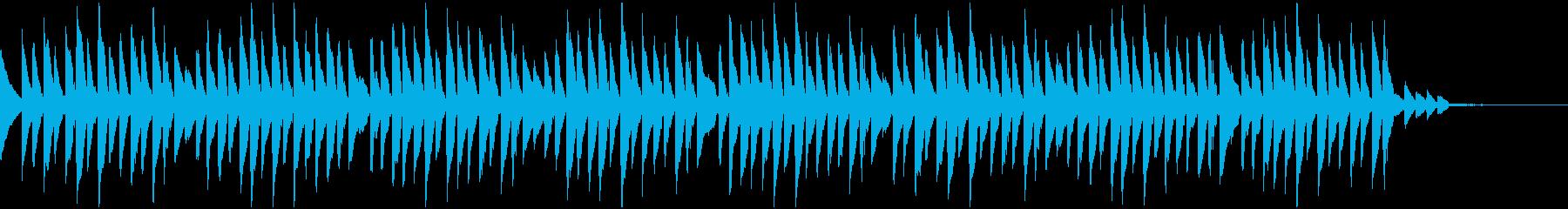 ピコピコ(クイズやシンキングタイム)の再生済みの波形