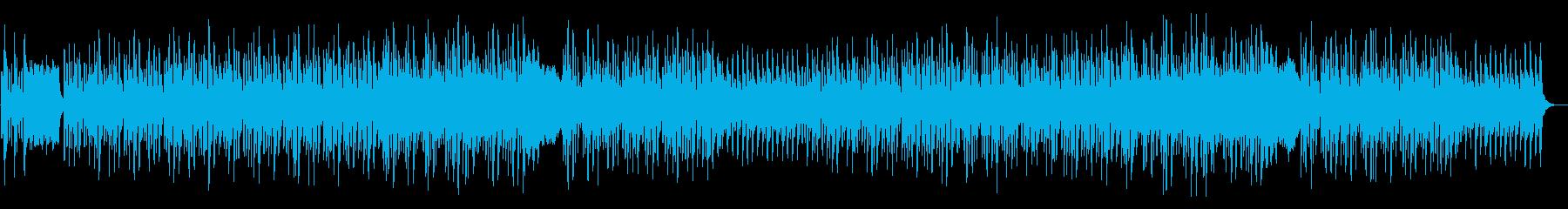 【リズム無し】軽快でかわいいハロウィンの再生済みの波形