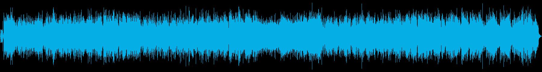 上京した時の気持ちを表現したポップソングの再生済みの波形