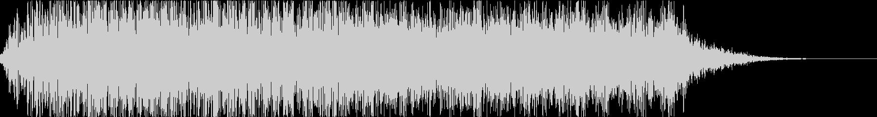 怪物・モンスターの鳴き声・ゲーム・映画fの未再生の波形