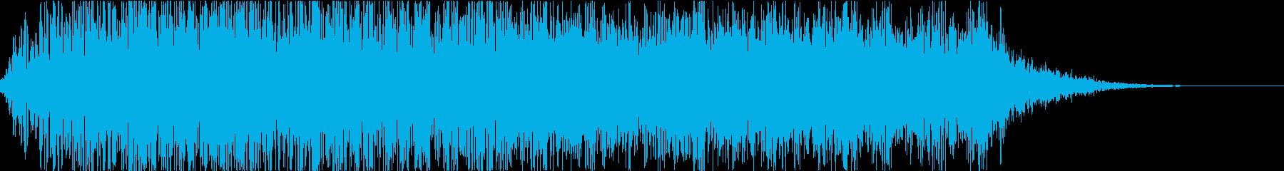 怪物・モンスターの鳴き声・ゲーム・映画fの再生済みの波形