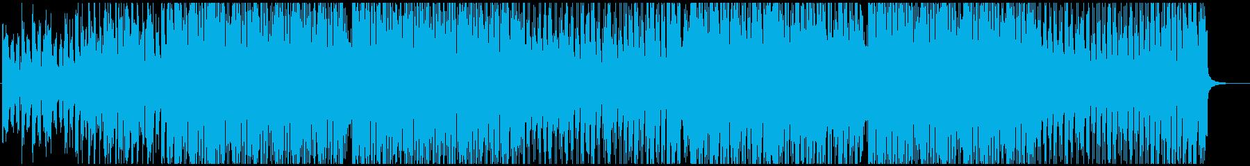 時代の先端を駆ける前向きな企業VP用楽曲の再生済みの波形
