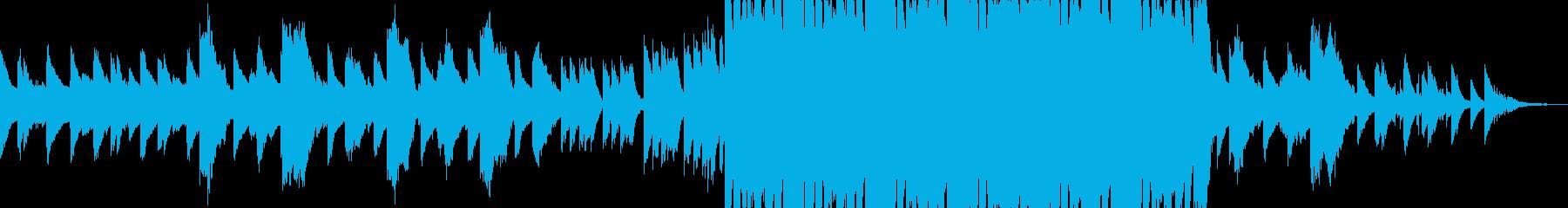 透明感のある歌声が美しいアンビエントの再生済みの波形
