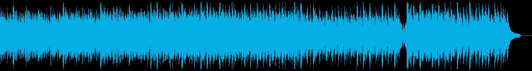 明るく穏やかな箏&ピアノ:メロディ抜きの再生済みの波形
