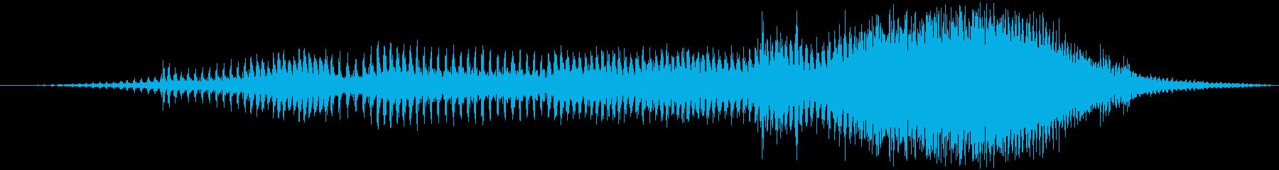 ジェットスキージェットスキーの再生済みの波形