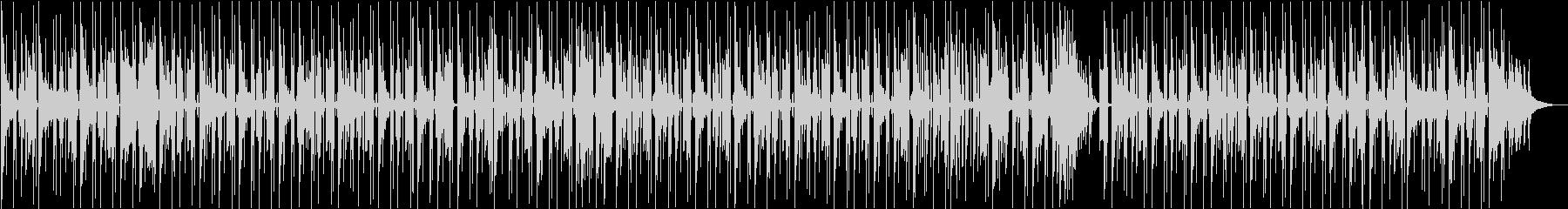 少々ダークな雰囲気のチルホップの未再生の波形