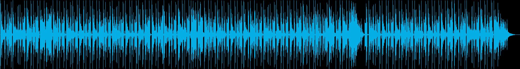 少々ダークな雰囲気のチルホップの再生済みの波形