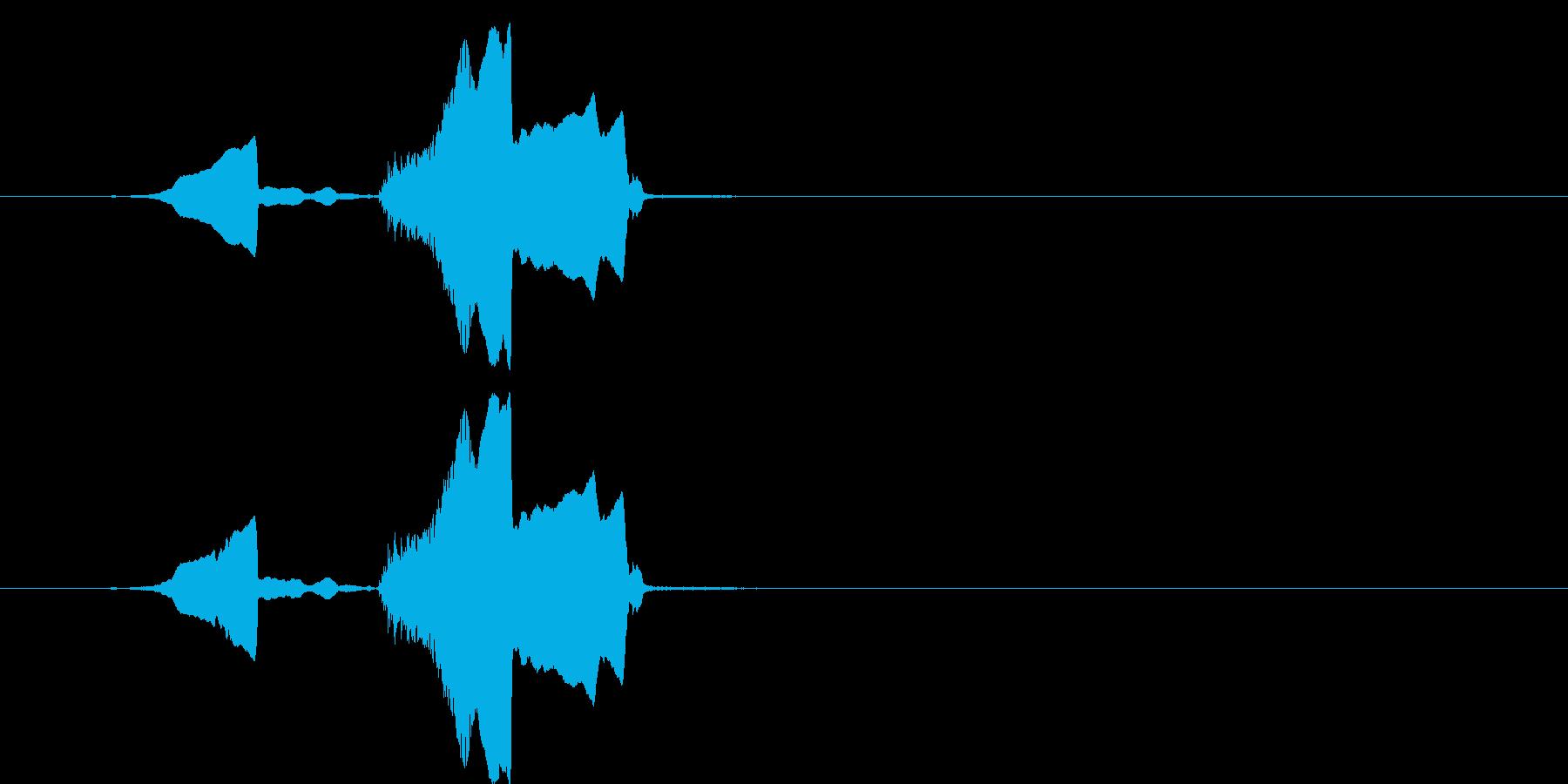 コヨーテハウル、シングル。中程度の視点。の再生済みの波形