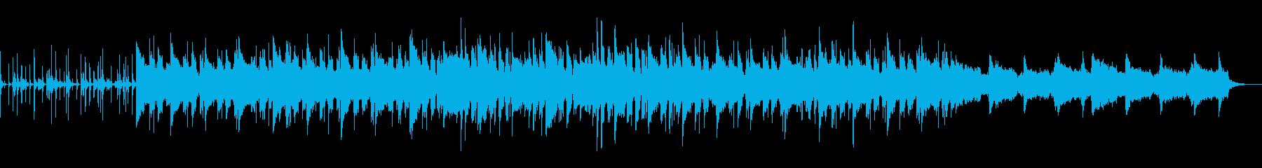 夜中の暑苦しさをイメージしたBGMの再生済みの波形