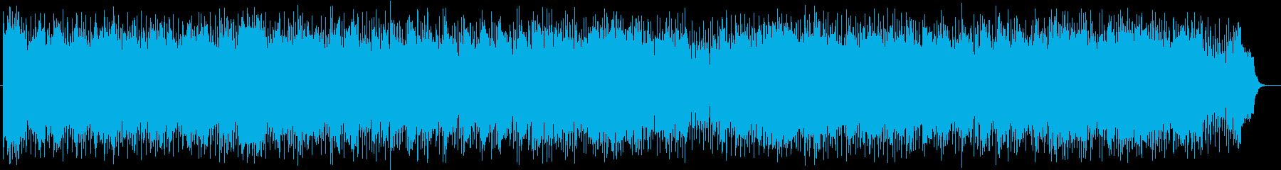 気分が上がるストリングスのアンサンブルの再生済みの波形