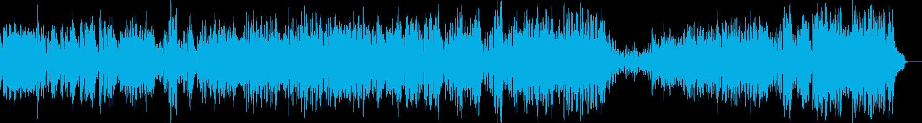 メルヘンな雰囲気に適したワルツ Dの再生済みの波形
