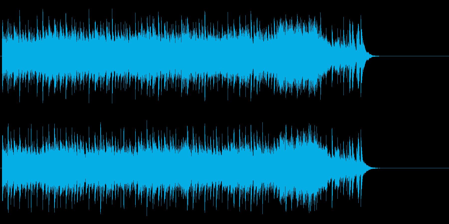 愉快で夢のあるポップ(サビ~エンド)の再生済みの波形