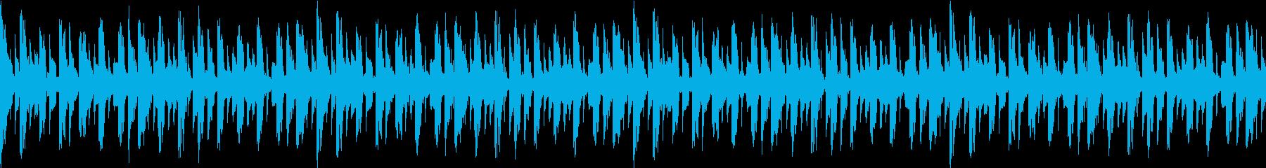 ミステリアスなサイバー感の再生済みの波形