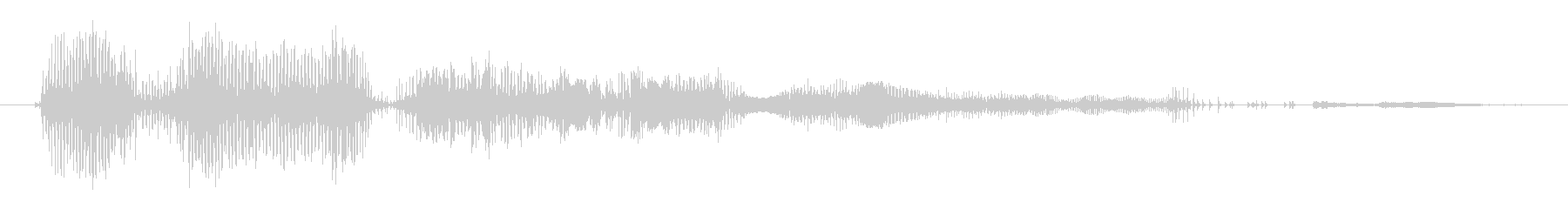 モンスター デススクリームハイ03の未再生の波形