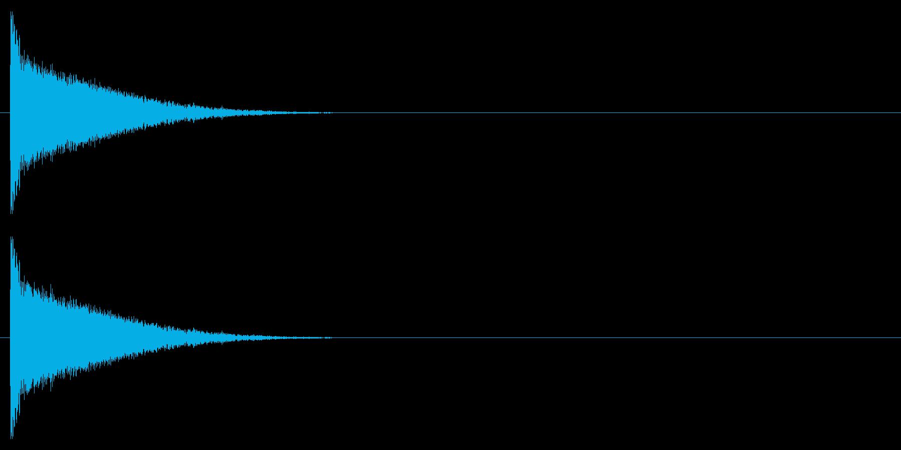 クラブ系 決定音06(シンセ)の再生済みの波形