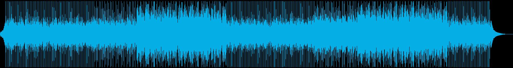 穏やかなポップ アコースティックギターの再生済みの波形